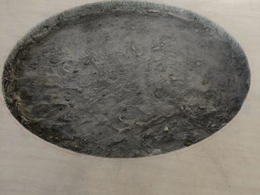 ★円形のコンクリート斫り工事★
